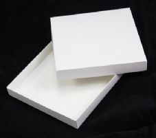 "6"" x 6"" White Invitation Boxes For Handmade Cards - SC2"